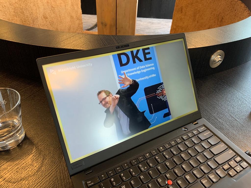 Livestream diploma-uitreiking DKE Maastricht University