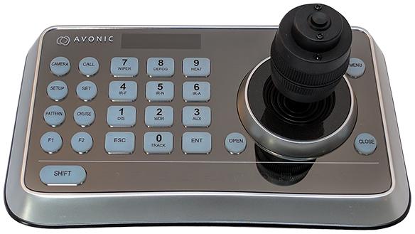 Avonic control panel ptz camera - Media Service België