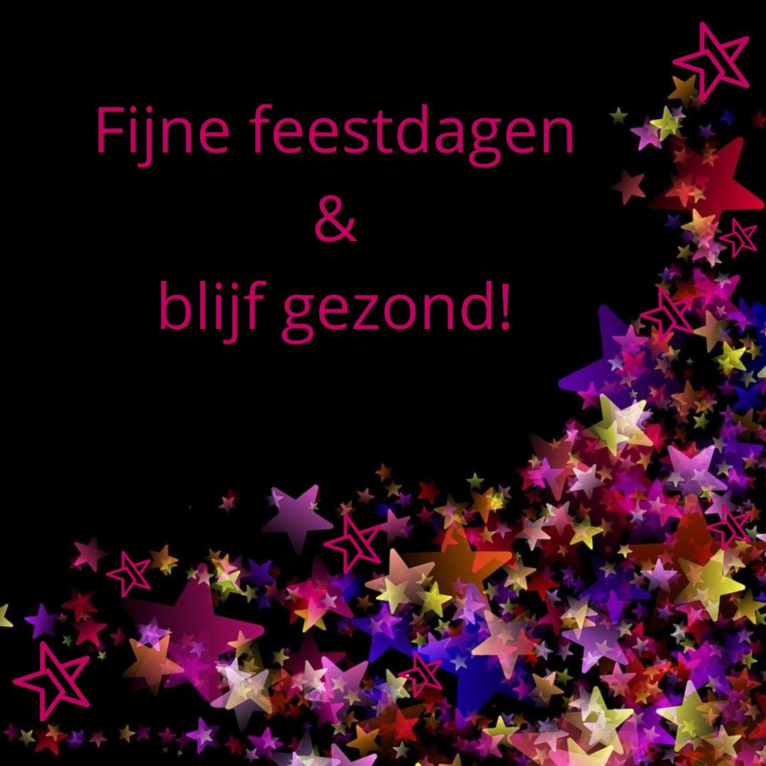 Fijne feestdagen & blijf gezond! - Media Service België