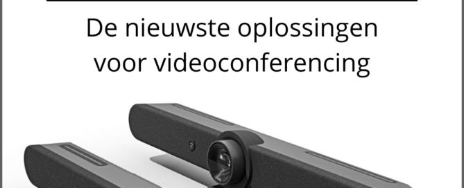 Logitech - de nieuwste oplossingen voor videoconferencing - Media Service België