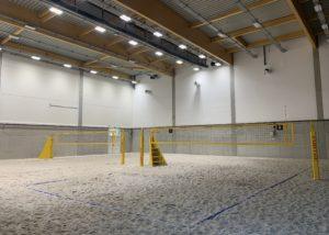 KU Leuven - Beachvolleybalhal en fitness - Media Service België