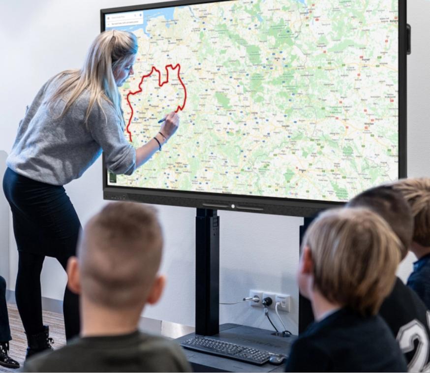 Basisonderwijs touchscreen - Media Service België