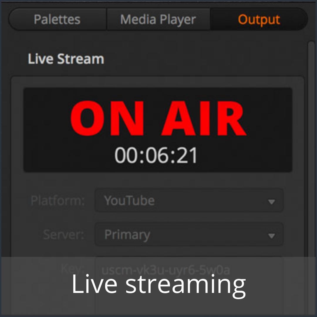Live streaming - Media Service België