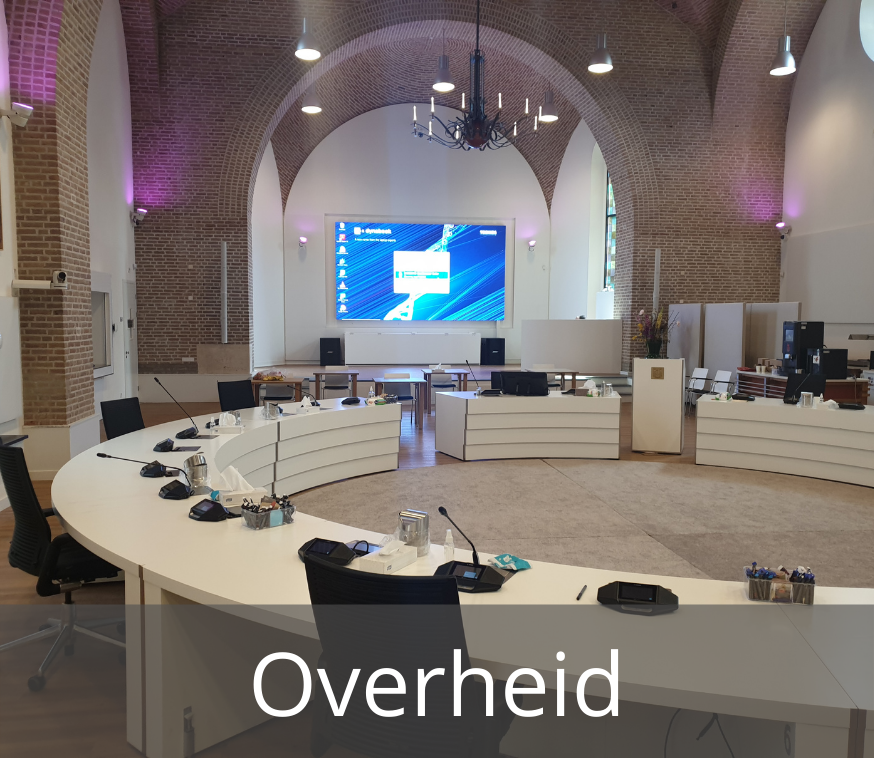 Overheid videoconferencing - Media Service België